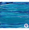 Oil painted blue background vector image vector image