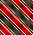 Pattern stripes background vector image
