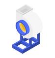 warehouse ventilator icon isometric style vector image vector image