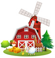 Animals and farm vector image vector image