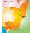Congo map vector image