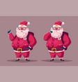 Funny modern santa claus
