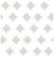 Gray rural geometric elements on the white vector image vector image