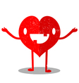 Heart Cartoon vector image vector image