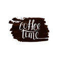 Lettering time for coffee