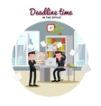 Office People Template vector image