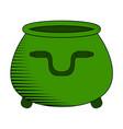 empty coin pot icon vector image