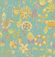 Flower pattern seamless texture vector image