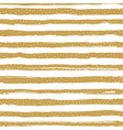 golden striped seamless pattern confetti or vector image vector image