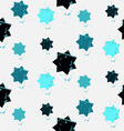 Grunge colorful geometric seamless pattern vector image