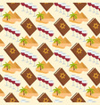 passover seamless pattern pesach endless vector image vector image