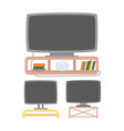 plasma or tv wireless or tubing equipment vector image