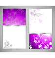 Set of Abstract Floral Banners vector image vector image