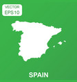 spain map icon business concept spain pictogram vector image vector image