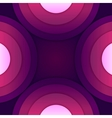 Abstract purple paper round shapes background vector image vector image