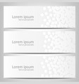 abstract white background brochure template vector image vector image