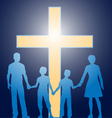 church family vector image vector image