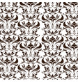 elegant decoration ornate swash design wallpaper vector image