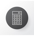 Financial budget icon symbol premium quality