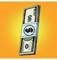 Money dollars cash vector image vector image