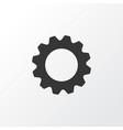 setting icon symbol premium quality isolated gear vector image