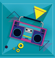 90s retro cartoon element vector image