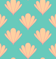 Abstract Shell Seamless Pattern vector image