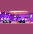 beauty saloon interior empty hair cut studio room