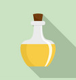flask potion icon flat style vector image vector image