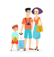 happy family time together vector image vector image