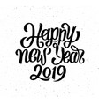 happy new year 2019 card season greetings vector image