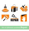 Repair symbols vector image vector image