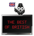 The Best of British vector image vector image