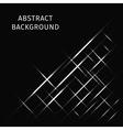 Lights strips on dark background vector image