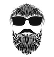 Beard Men vector image