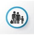 refugee icon symbol premium quality isolated vector image