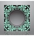 Retro frame design vector image vector image