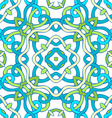 Seamless twisted geometric pattern vector image vector image