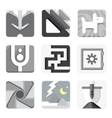 Set of isolated icons for your application