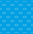 bicycle chain pattern seamless blue vector image