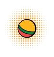 Baby ball comics icon vector image vector image
