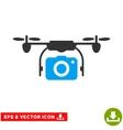 Camera Drone Eps Icon vector image vector image