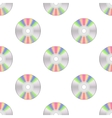Colorful Compact Disc Seamless Pattern vector image vector image