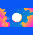 creative of liquid gradient fluid vector image vector image
