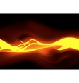 Fiery Flames vector image
