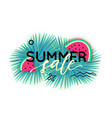 summer sale trendy banner modern backgrounds vector image vector image