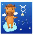 Zodiac signs - Taurus vector image vector image