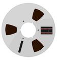 of a tape bobbin vector image