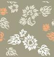 plants seamless pattern wallpaper vector image