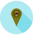 bar location vector image vector image